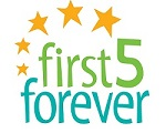 First 5 Forever Logo stacked web 150pix