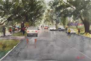 7 2019 Misty Day Margaret St - 34x53 - watercolour [sml].jpg