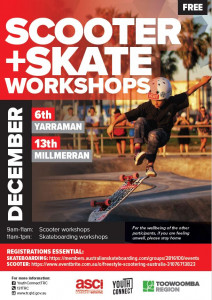 Skate and Scooter Workshops