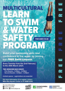 learn to swim and swimming safety program