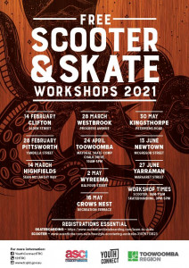 Free Scooter and Skate Workshops 2021