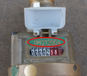 how to find water meter in yard